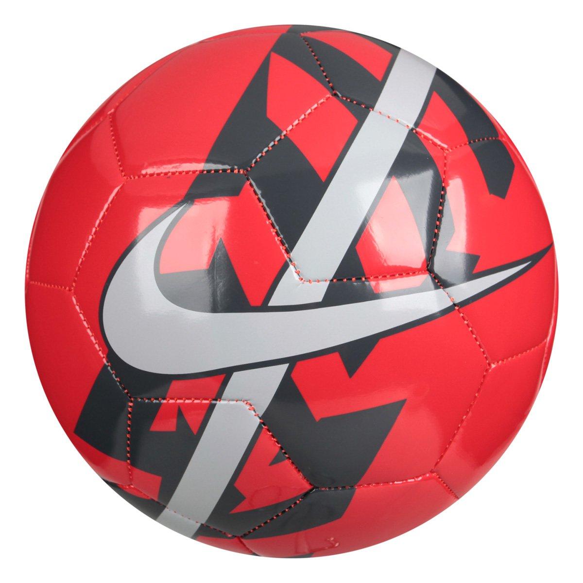 99ae76c38a Bola Futebol Nike React Campo - Vermelho | Loja do Inter