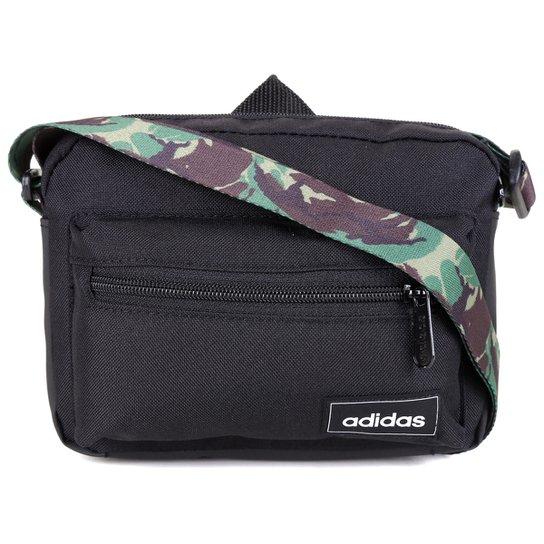 Bolsa Adidas Organizer Camuflada - Preto+Cinza