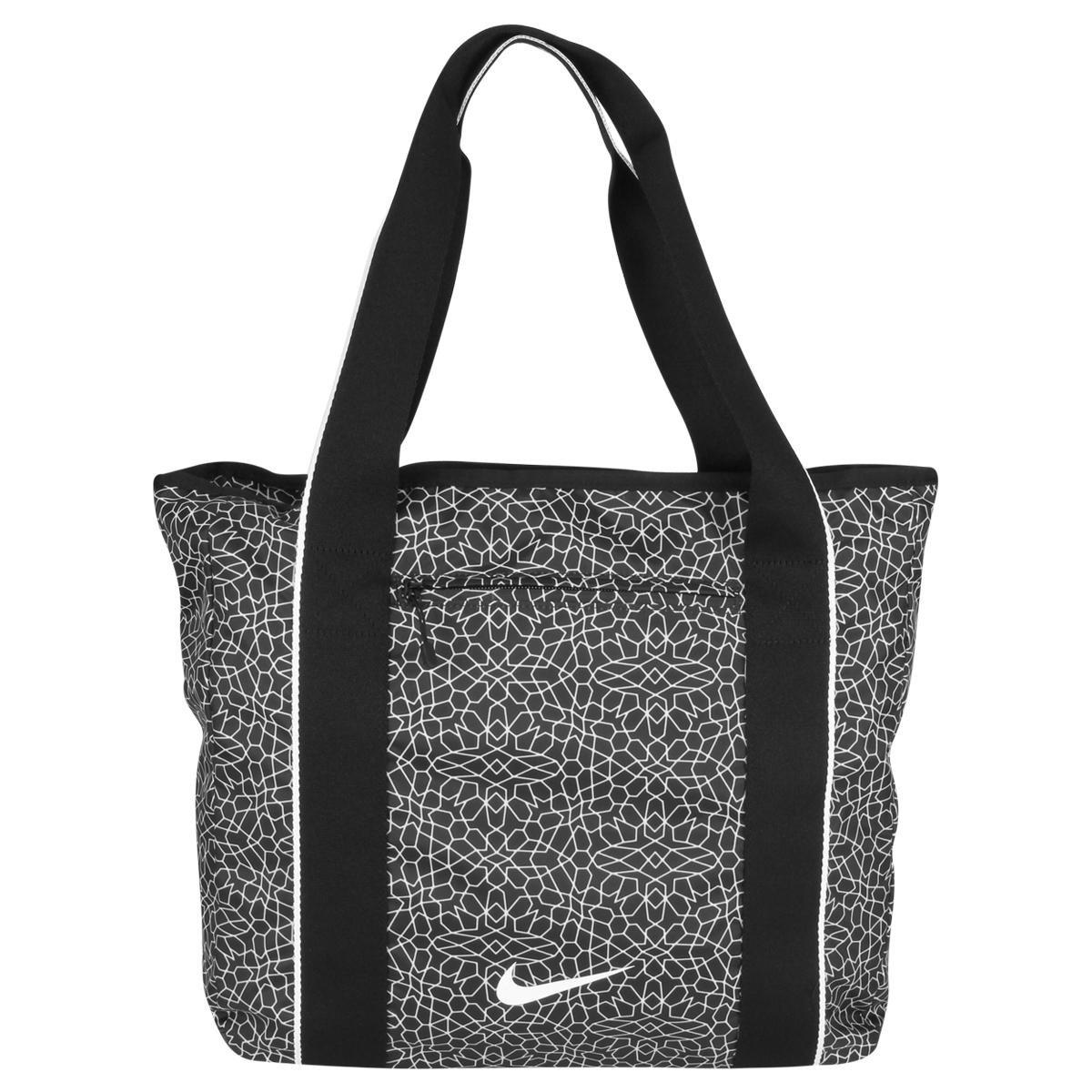 Bolsa Esportiva Feminina Nike Track Tote : Bolsa nike tote legend track feminina cinza e preto