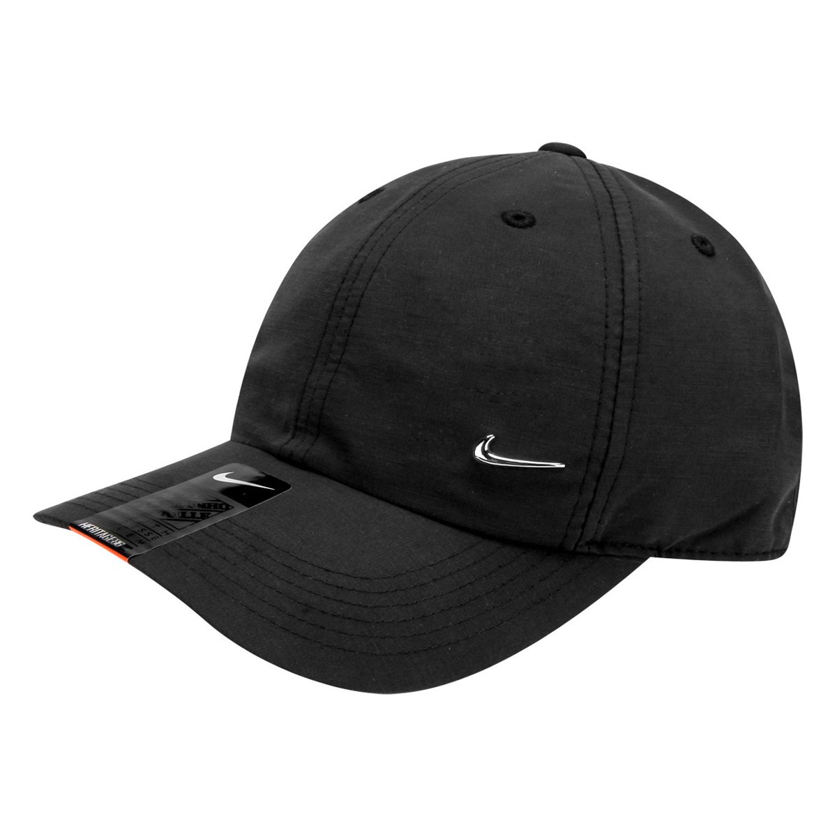 a371cf8bef3a6 Boné Infantil Nike Aba Curva Heritage 86 Metal Swoosh - Compre Agora ...