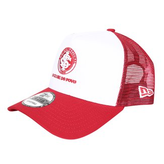 Boné Trucker New Era Internacional 940 Aba Curva