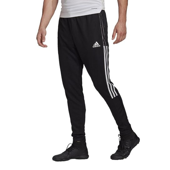 Calça Adidas Tiro 21 Track Masculina - Preto+Branco
