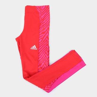 Calça Infantil Adidas D2M Seasonal Feminina