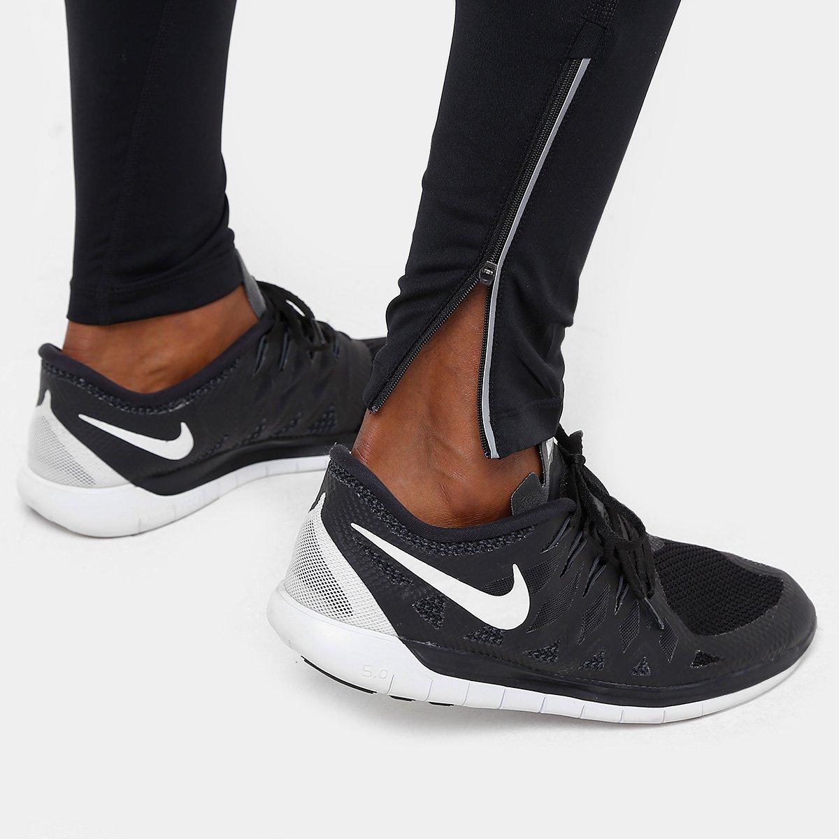 1cd476ed07 Calça Nike Power Run TGHT Dri-Fit Masculina - Preto - Compre Agora ...