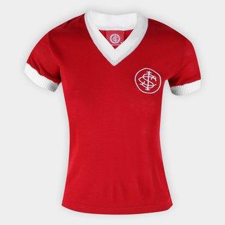Camisa Baby Look Internacional Retrô n° 7 Feminina