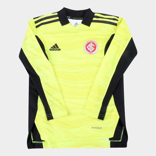 Camisa de Goleiro Internacional Juvenil II 21/22 s/n° Torcedor Adidas - Amarelo