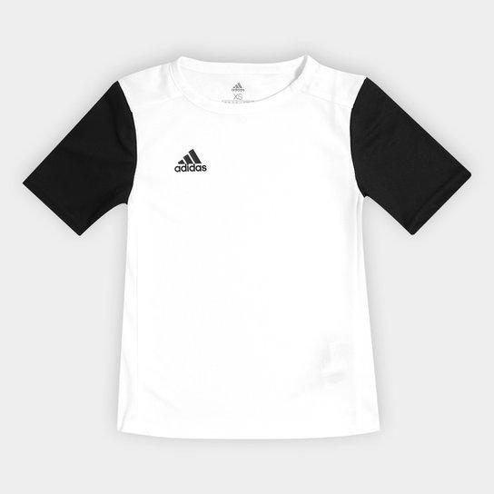 Camisa Infantil Adidas Estro 19 - Branco