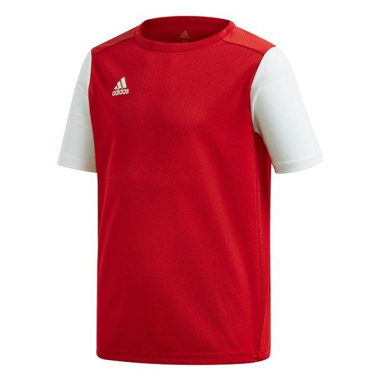 Camisa Infantil Adidas Estro 19 - Vermelho