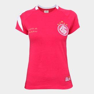 Camisa Internacional 2006 Libertadores Retrô Mania Feminina