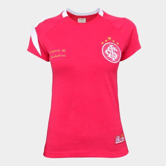 Camisa Internacional 2006 Libertadores Retrô Mania Feminina - Vermelho