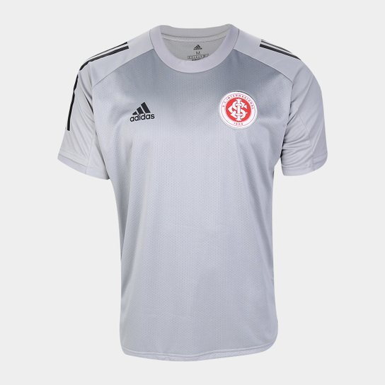 Camisa Internacional Comissão Técnica 20/21 Adidas Masculina - Cinza Claro