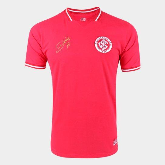 Camisa Internacional D'Alessandro 2011 RetrôMania Masculina - Vermelho