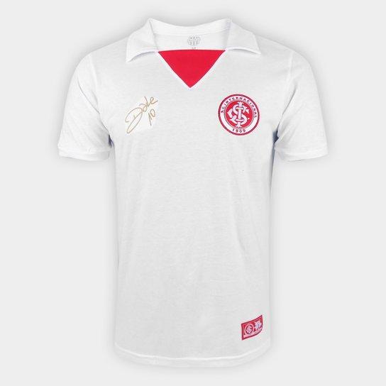 Camisa Internacional D'Alessandro 2013 II RetrôMania Masculina - Branco