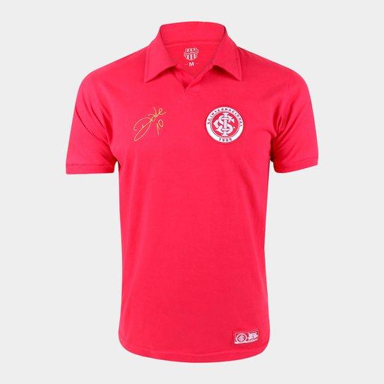 Camisa Internacional D'Alessandro 2015 RetrôMania Masculina - Vermelho