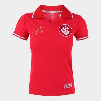Camisa Internacional D'Alessandro Stripe II RetrôMania Feminina