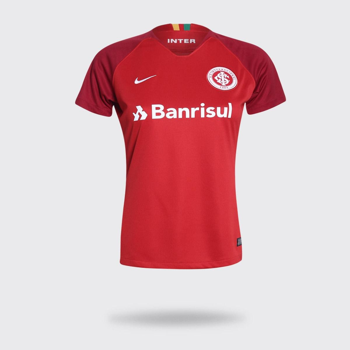 128631373 Camisa Internacional I 18 19 s n° Torcedor Nike Feminina - Compre Agora