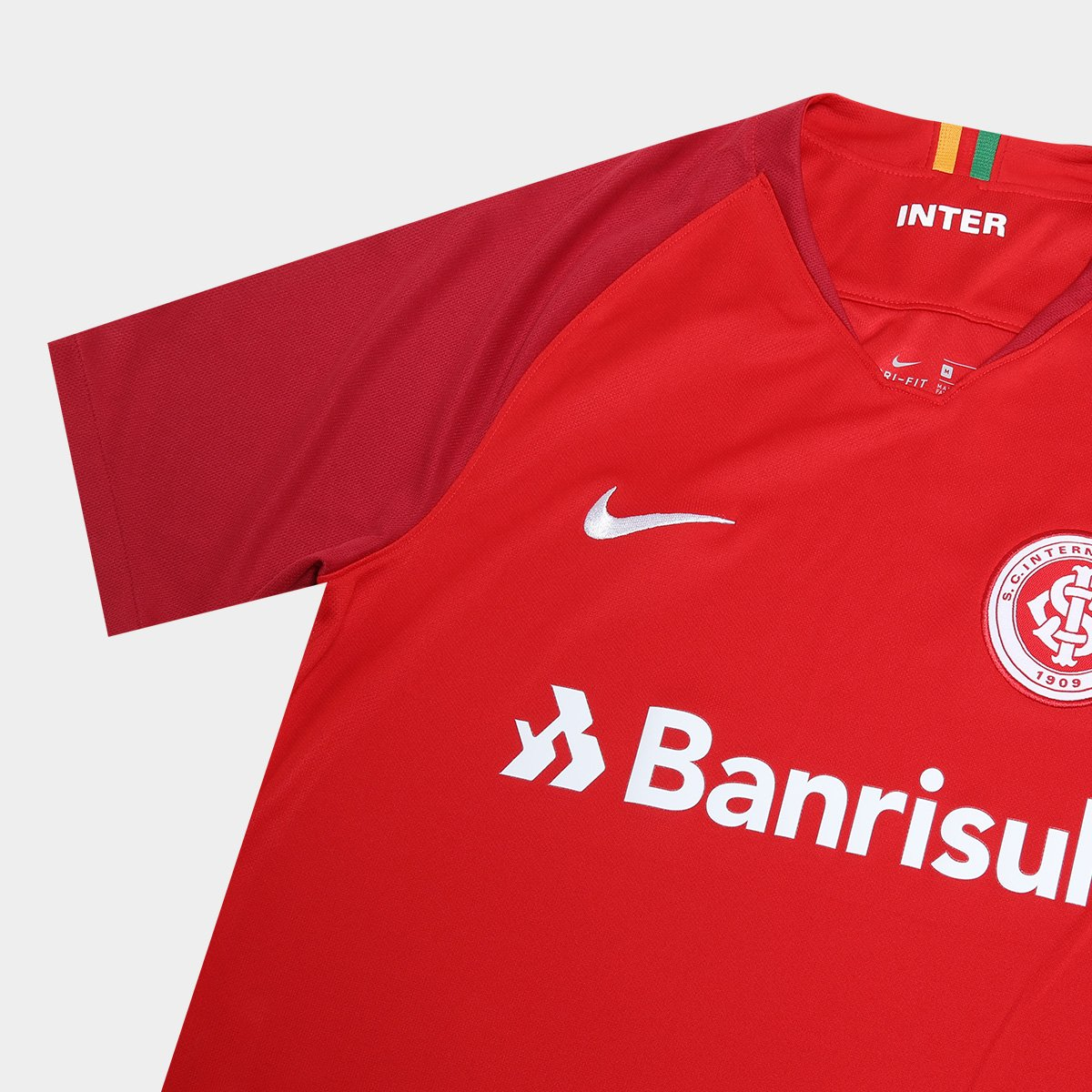 ... Camisa Internacional I 18 19 s nº Torcedor Nike Masculina C  Patrocínio 79fe4ffc65410