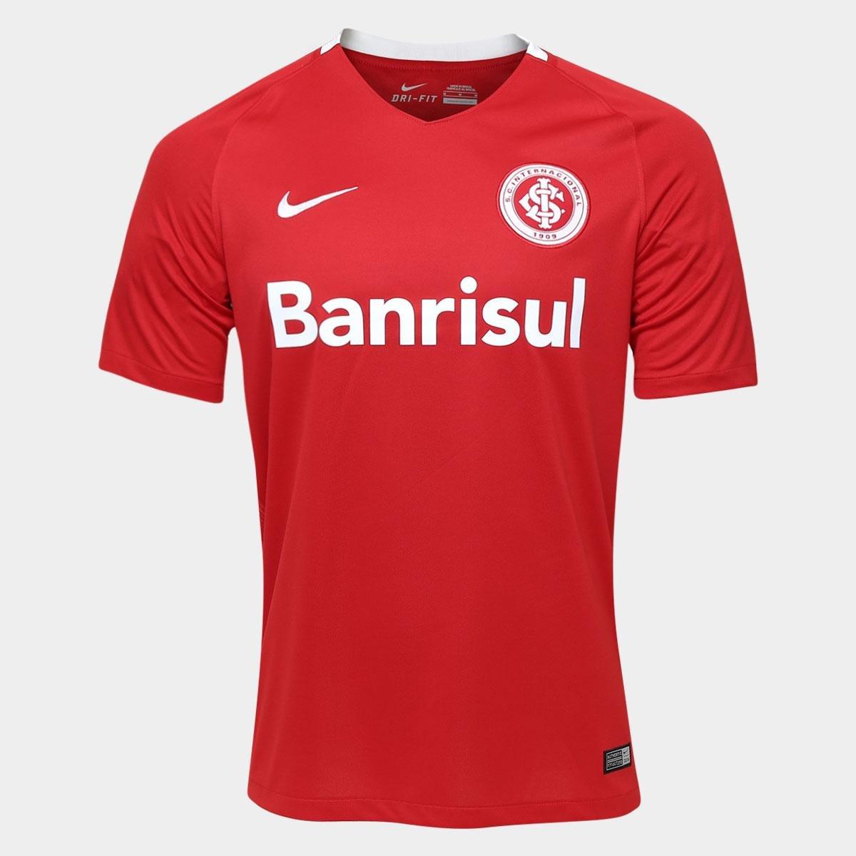 ad56108fd2268 Camisa Internacional I 2016 s nº Torcedor Nike Masculina - Compre Agora