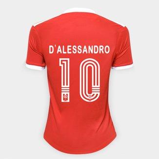 Camisa Internacional I 20/21 Nº 10 D'Alessandro Torcedor Adidas Feminina