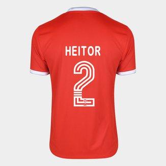 Camisa Internacional I 20/21 Nº 2 Heitor Torcedor Adidas Masculina