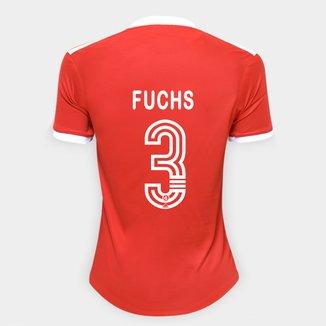 Camisa Internacional I 20/21 Nº 3 Fuchs Torcedor Adidas Feminina