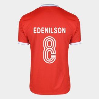Camisa Internacional I 20/21 Nº 8 Edenilson Torcedor Adidas Masculina