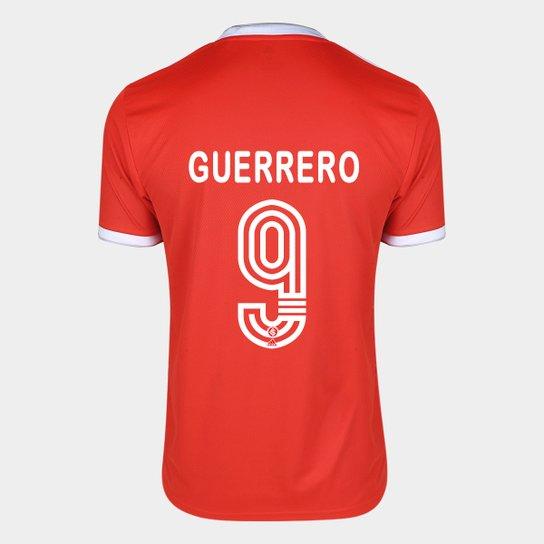 Camisa Internacional I 20/21 Nº 9 Guerrero Torcedor Adidas Masculina - Vermelho