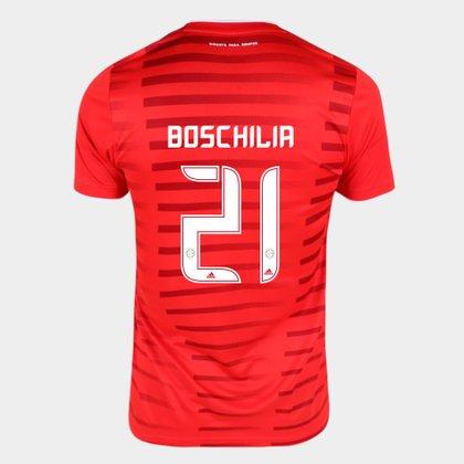 Camisa Internacional I 21/22 Boschilia Nº21 Torcedor Adidas Masculina
