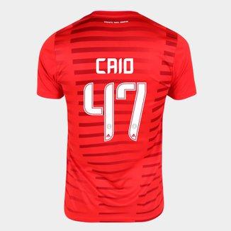 Camisa Internacional I 21/22 Caio Nº47 Torcedor Adidas Masculina