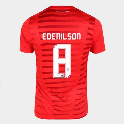 Camisa Internacional I 21/22 Edenílson Nº8 Torcedor Adidas Masculina