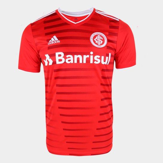 Camisa Internacional I 21/22 s/n° Torcedor Adidas Masculina - Vermelho