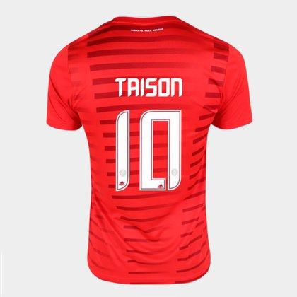 Camisa Internacional I 21/22 Taison Nº10 Torcedor Adidas Masculina