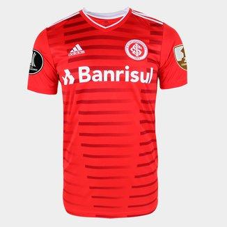 Camisa Internacional I Libertadores 21/22 s/n° Torcedor Adidas Masculina