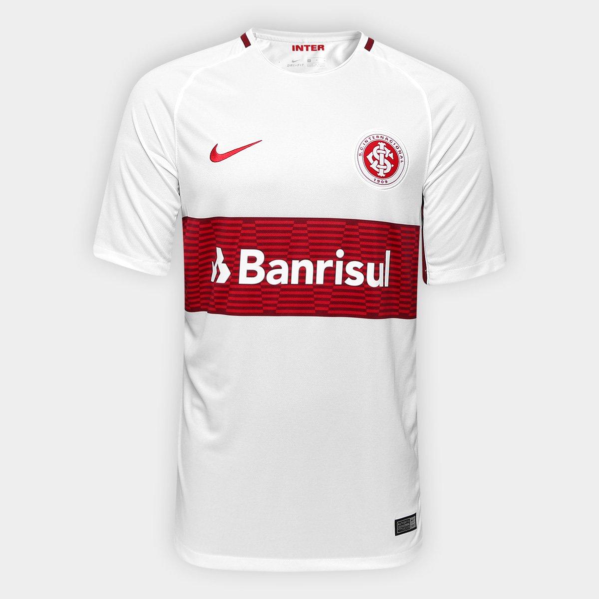 Camisa Internacional II 17 18 s nº Torcedor Nike Masculina 8e9896fbfe063