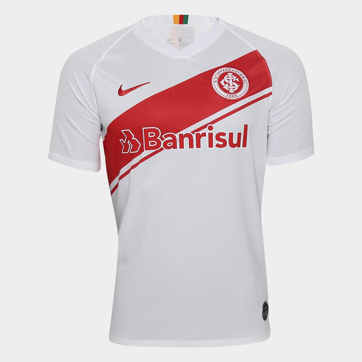 38f3eecc1 Camisa Internacional II 19 20 s nº Torcedor Nike Masculina - Branco e  Vermelho - Compre Agora