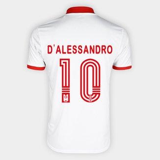 Camisa Internacional II 20/21 Nº 10 D'Alessandro Torcedor Adidas Masculina