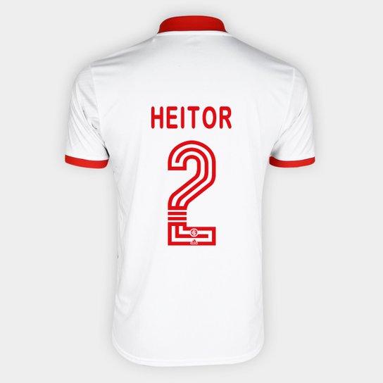 Camisa Internacional II 20/21 Nº 2 Heitor Torcedor Adidas Masculina - Branco