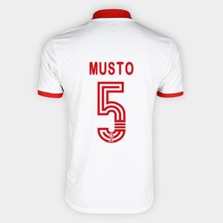 Camisa Internacional II 20/21 Nº 5 Musto Torcedor Adidas Masculina