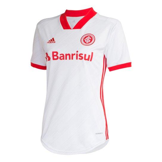 Camisa Internacional II 20/21 s/nº Torcedor Adidas Feminina - Branco