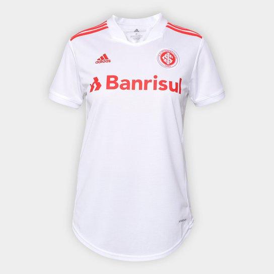 Camisa Internacional II 21/22 s/n° Torcedor Adidas Feminina - Branco