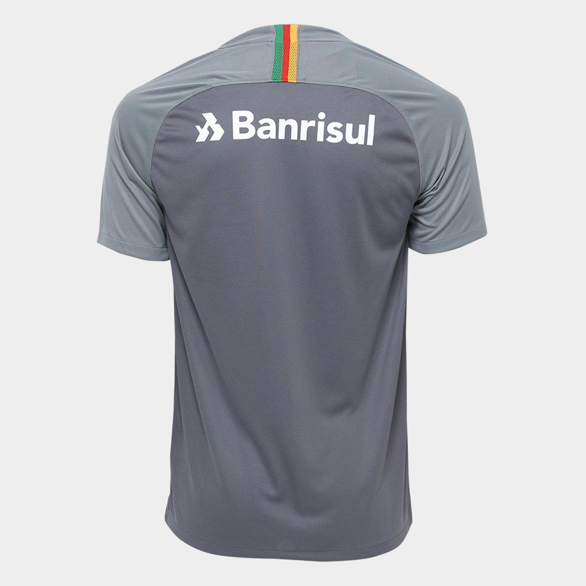 b0fb793080 Camisa Internacional III 2018 s n° - Torcedor Nike Masculina - Cinza ...