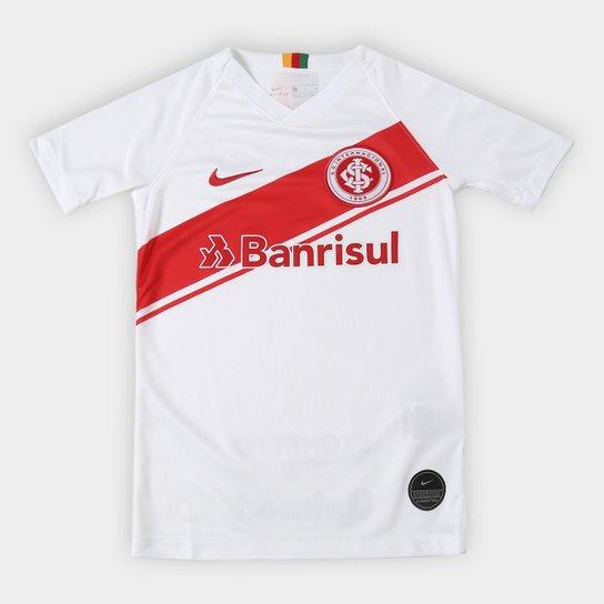 Camisa Internacional Infantil II 19/20 s/nº Torcedor Nike - Branco+Vermelho