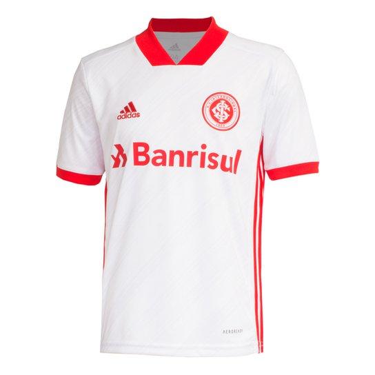 Camisa Internacional Infantil II 20/21 s/nº Torcedor Adidas - Branco