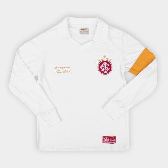 Camisa Internacional Juvenil 2006 Mundial de Clubes Retrô Mania - Branco
