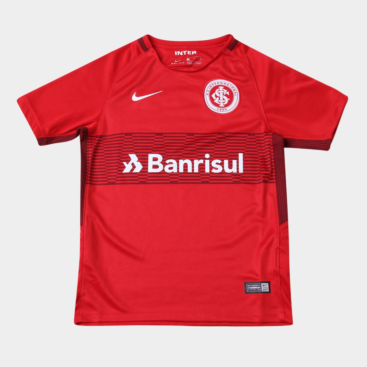 Camisa Internacional Juvenil I 17 18 s n° Torcedor Nike - Compre ... e76c18b0717f6