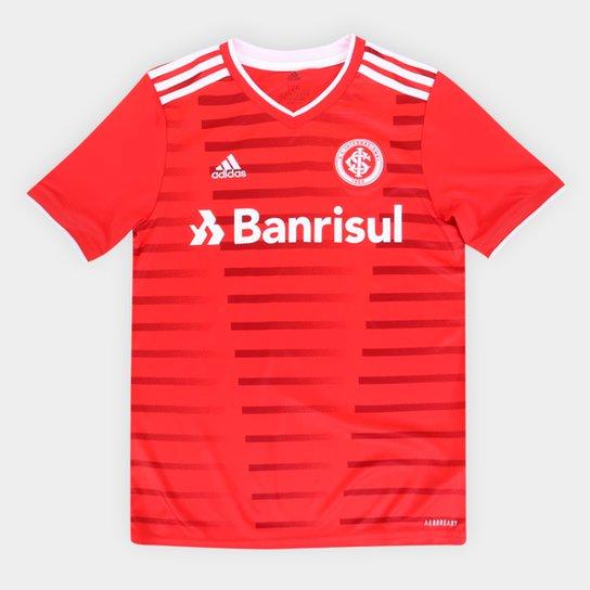 Camisa Internacional Juvenil I 21/22 s/n° Torcedor Adidas - Vermelho
