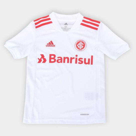 Camisa Internacional Juvenil II 21/22 s/n° Torcedor Adidas - Branco