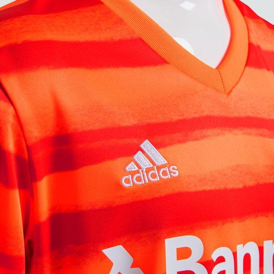Camisa Internacional Juvenil III 20/21 s/n° Torcedor Adidas - Laranja