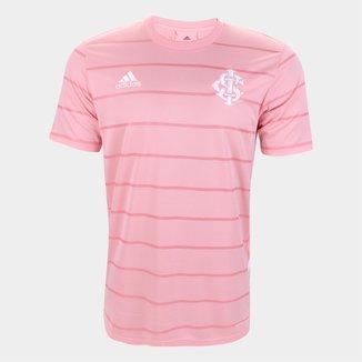 Camisa Internacional Outubro Rosa 21/22 s/n° Torcedor Adidas Masculina