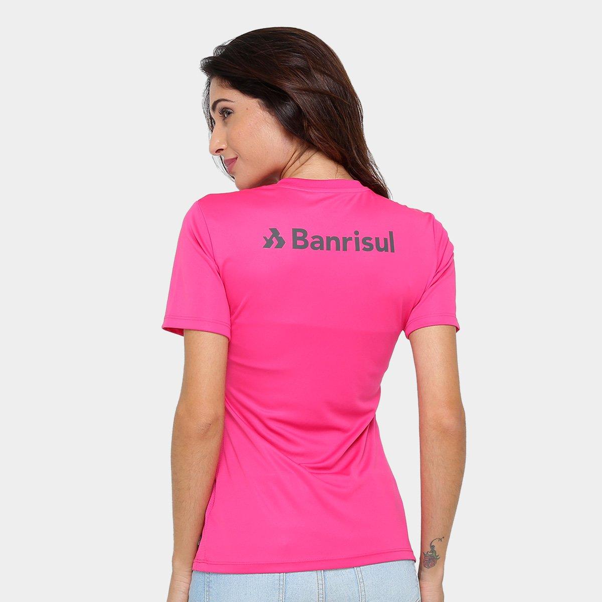 ee0ddd3634 Camisa Internacional Outubro Rosa Nike Feminina - Rosa e Chumbo ...